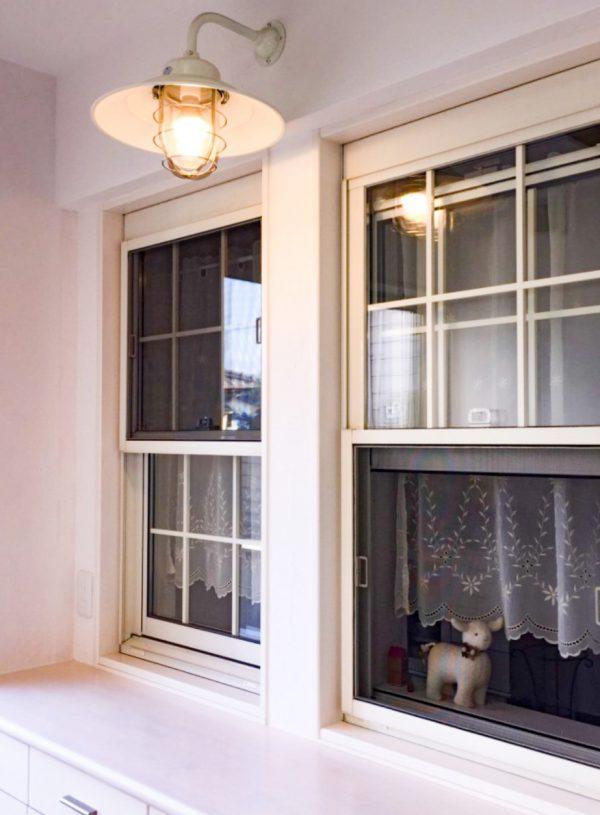 西条市で内装リフォームの窓写真