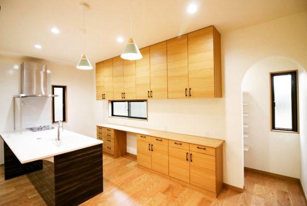 新居浜市で一戸建てのキッチン写真