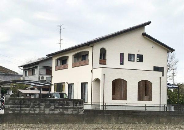 新居浜市でグラスウールを使用した家写真