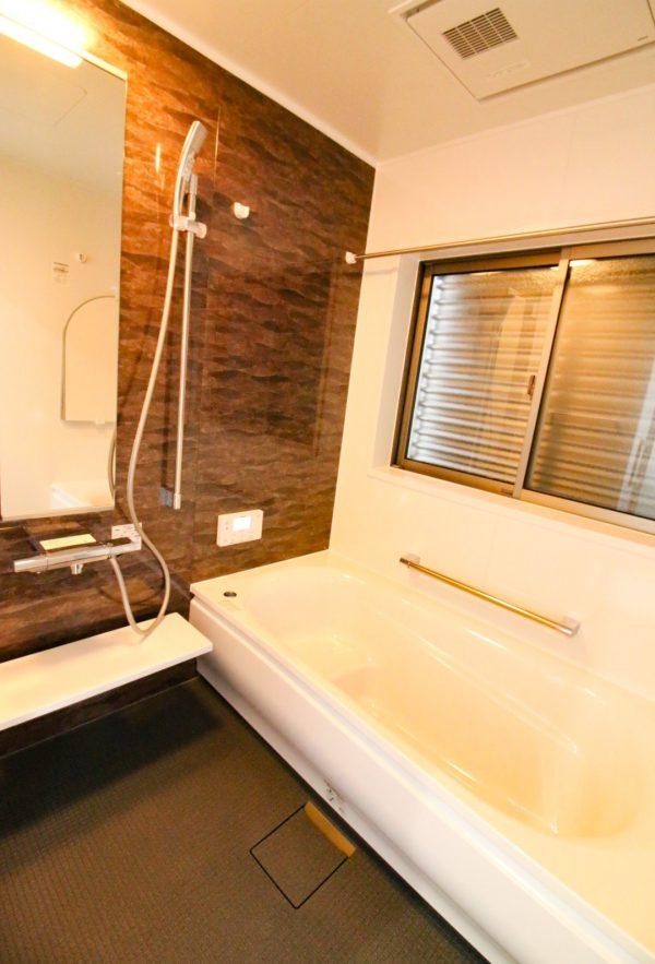 新居浜市で家を建てたお風呂写真