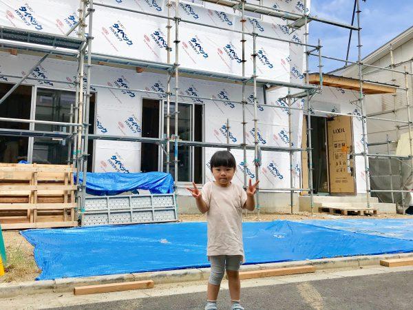 新居浜市で家づくりされる子供写真