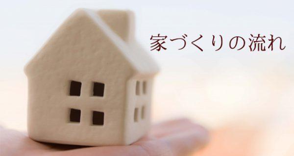 家づくりの流れを見ていきましょう