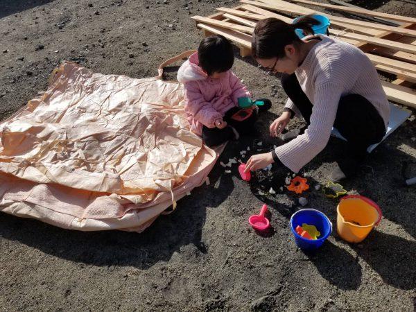 新居浜市ベビーシッターと子どもの写真