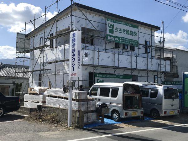 四国中央市の断熱住宅の写真