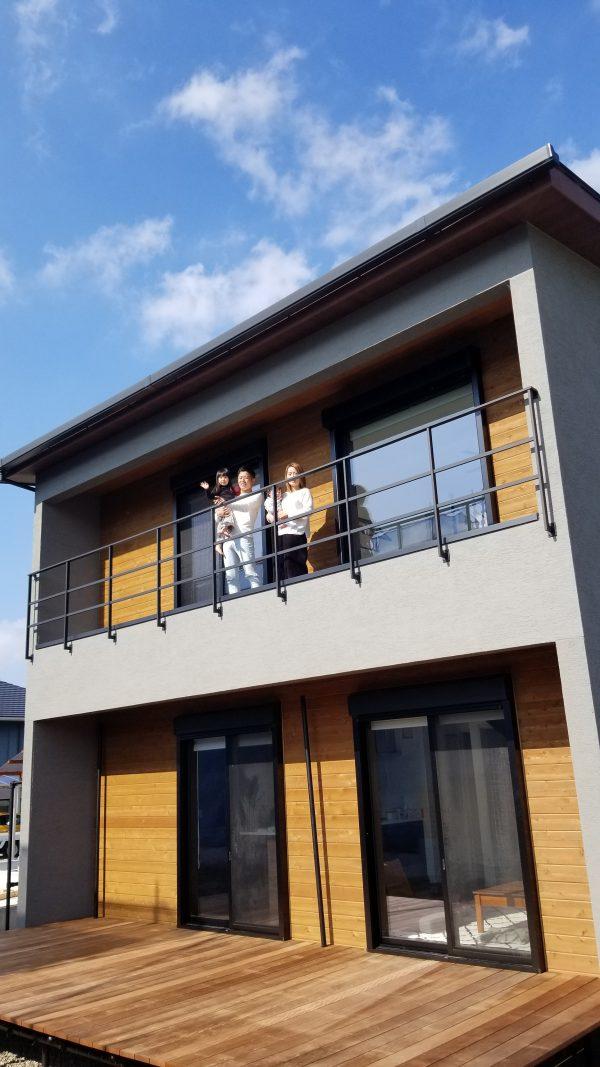 新居浜市の新築住宅写真